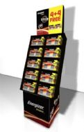 Energizer Max Batteries 4 Plus 4 Free - AA & AAA Display Unit